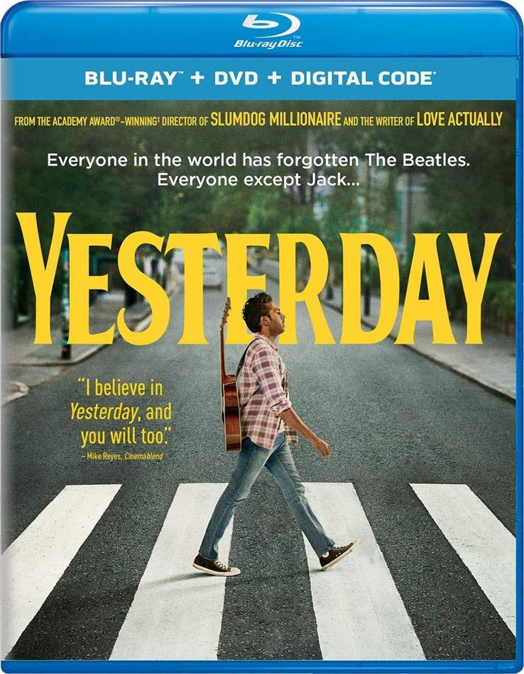 Yesterday (2019) (Blu-ray + DVD)