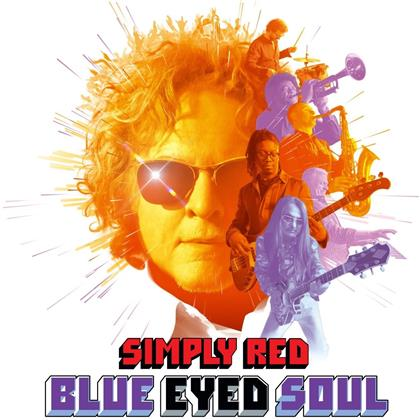 Simply Red - Blue Eyed Soul (Colored, LP)