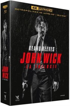 John Wick 1-3 - La Trilogie (3 4K Ultra HDs + 3 Blu-rays)