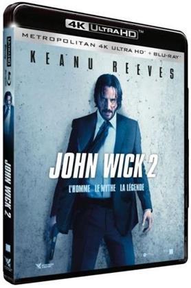 John Wick 2 (2017) (4K Ultra HD + Blu-ray)