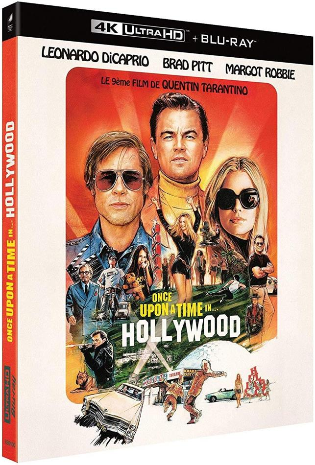 Once upon a time in... Hollywood (2019) (4K Ultra HD + Blu-ray)