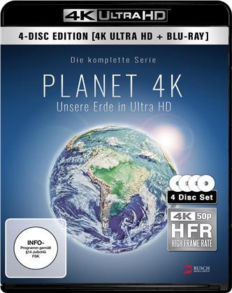 Planet 4K - Die komplette Serie (2 4K Ultra HDs + 2 Blu-rays)