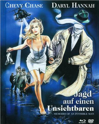 Jagd auf einen Unsichtbaren (Limited Edition, Mediabook, Blu-ray + DVD)