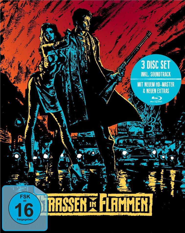 Strassen in Flammen (1984) (Mediabook, 2 Blu-rays + CD)