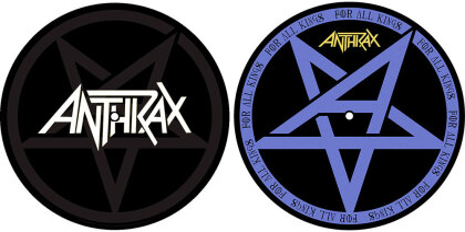 Anthrax Turntable Slipmat Set - Pentathrax / For All Kings (Retail Pack)