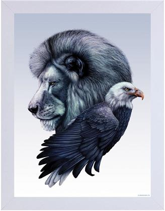 Unorthodox Collective - Virtis Duo - Wooden Framed Print