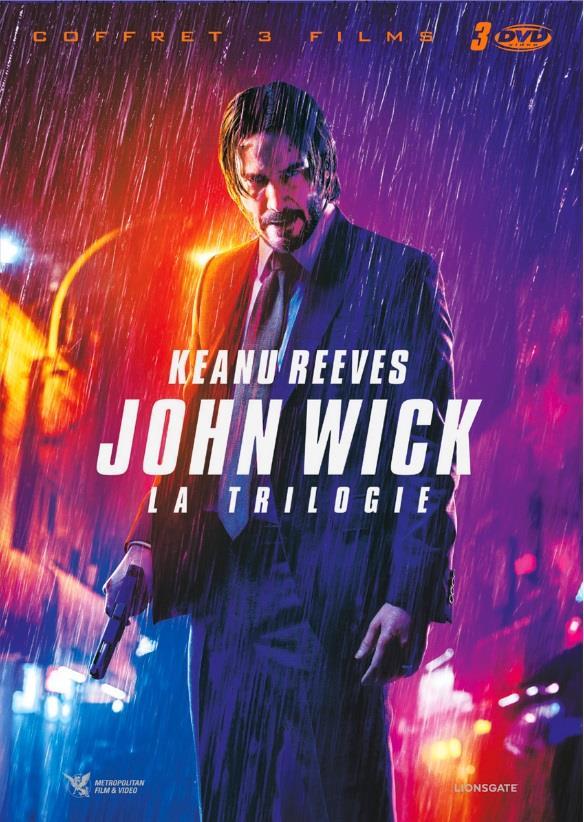 John Wick 1-3 - La Trilogie (3 DVDs)