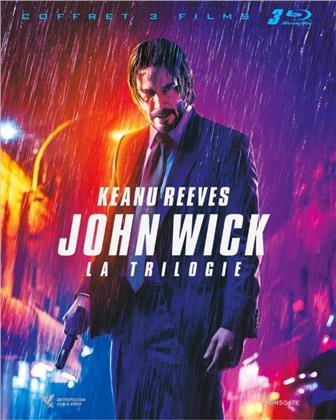 John Wick 1-3 - La Trilogie (3 Blu-rays)