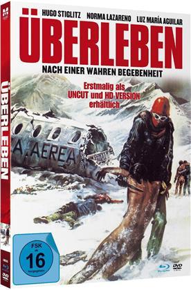 Überleben (1976) (Limited Edition, Mediabook, Uncut, Blu-ray + DVD)