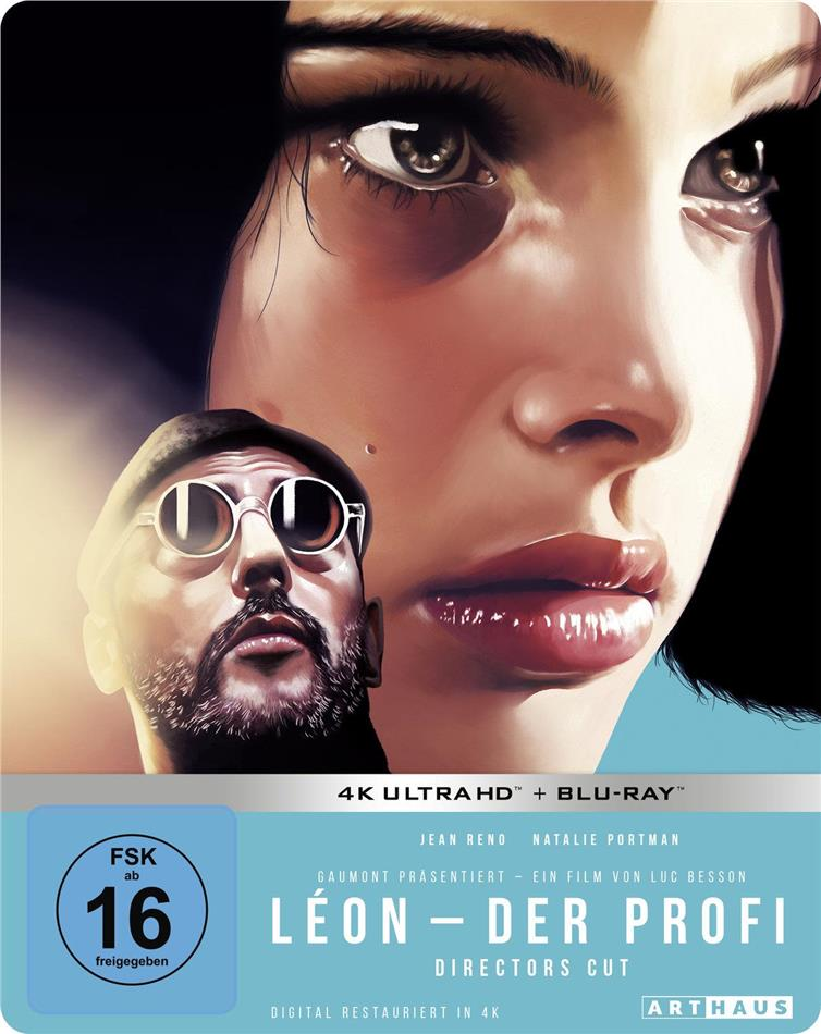 Leon - Der Profi (1994) (Director's Cut, 25th Anniversary Limited Edition, Steelbook, 4K Ultra HD + Blu-ray)