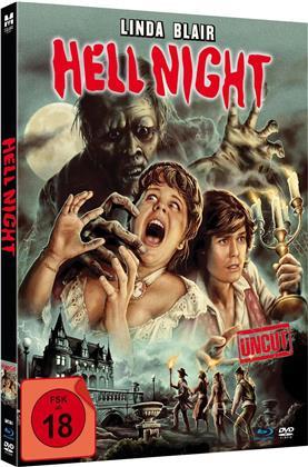 Hell Night (1981) (Edizione Limitata, Mediabook, Uncut, Blu-ray + DVD)