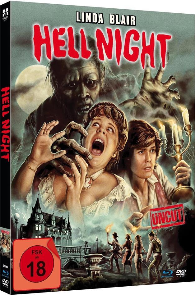 Hell Night (1981) (Limited Edition, Mediabook, Uncut, Blu-ray + DVD)