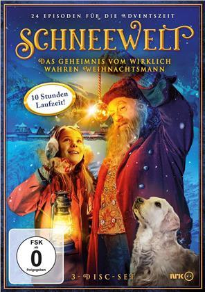 Schneewelt - Das Geheimnis vom wirklich wahren Weihnachtsmann (3 DVDs)