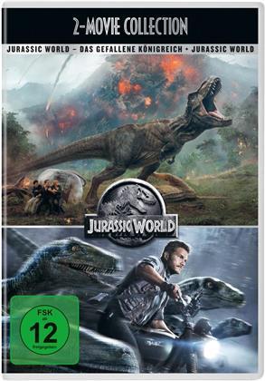 Jurassic World / Jurassic World 2: Das gefallene Königreich (New Edition, 2 DVDs)