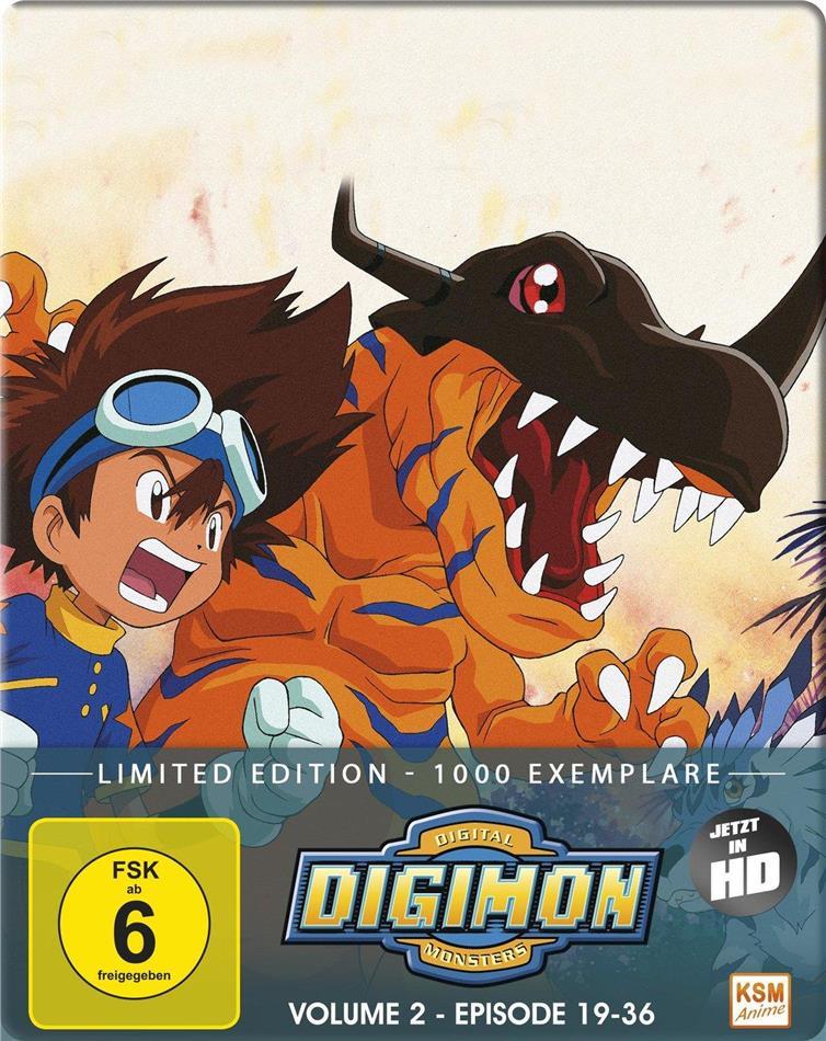 Digimon: Digital Monsters - Adventure - Staffel 1 - Vol. 2 (Limited Edition, 2 Blu-rays)
