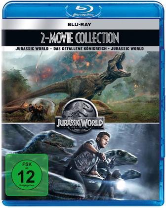 Jurassic World / Jurassic World 2: Das gefallene Königreich (New Edition, 2 Blu-rays)