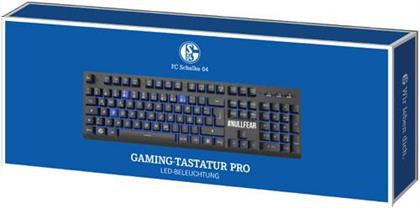 PC Keyboard Gaming Pro Schalke 04 - (German Layout)