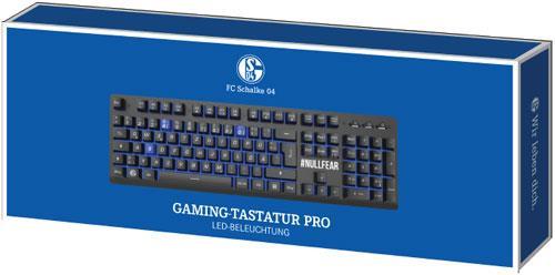 PC Keyboard Gaming Pro Schalke 04 - (German Layout)