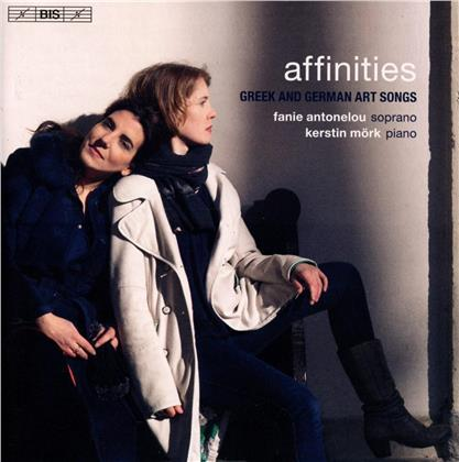 Fanie Antonelou, Kerstin Mörk, Alexander von Zemlinsky (1871-1942) & Kurt Weill (1900-1950) - Affinities (SACD)