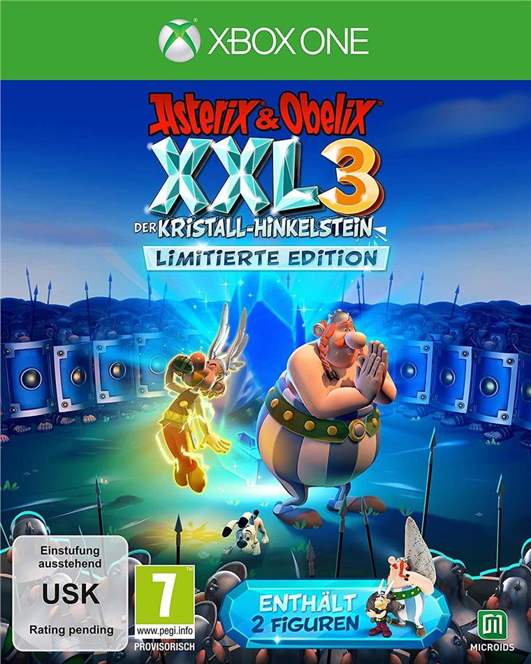 Asterix & Obelix XXL 3 - Der Kristall-Hinkelstein (Limited Edition)