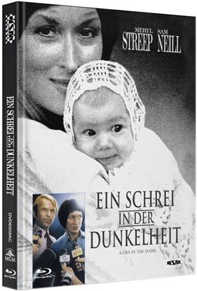 Ein Schrei in der Dunkelheit (1988) (Cover C, Limited Edition, Mediabook, Blu-ray + DVD)