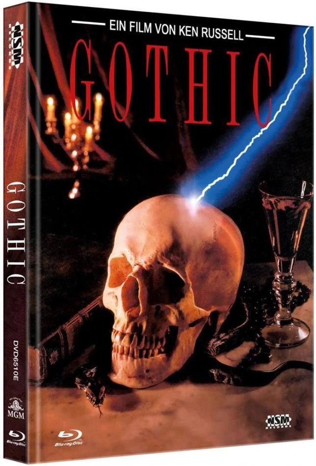 Gothic (1986) (Cover E, Limited Edition, Mediabook, Blu-ray + DVD)