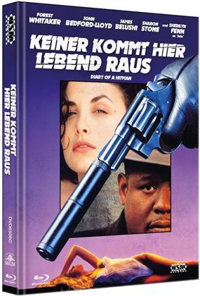 Keiner kommt hier lebend raus (1991) (Cover C, Limited Edition, Mediabook, Blu-ray + DVD)