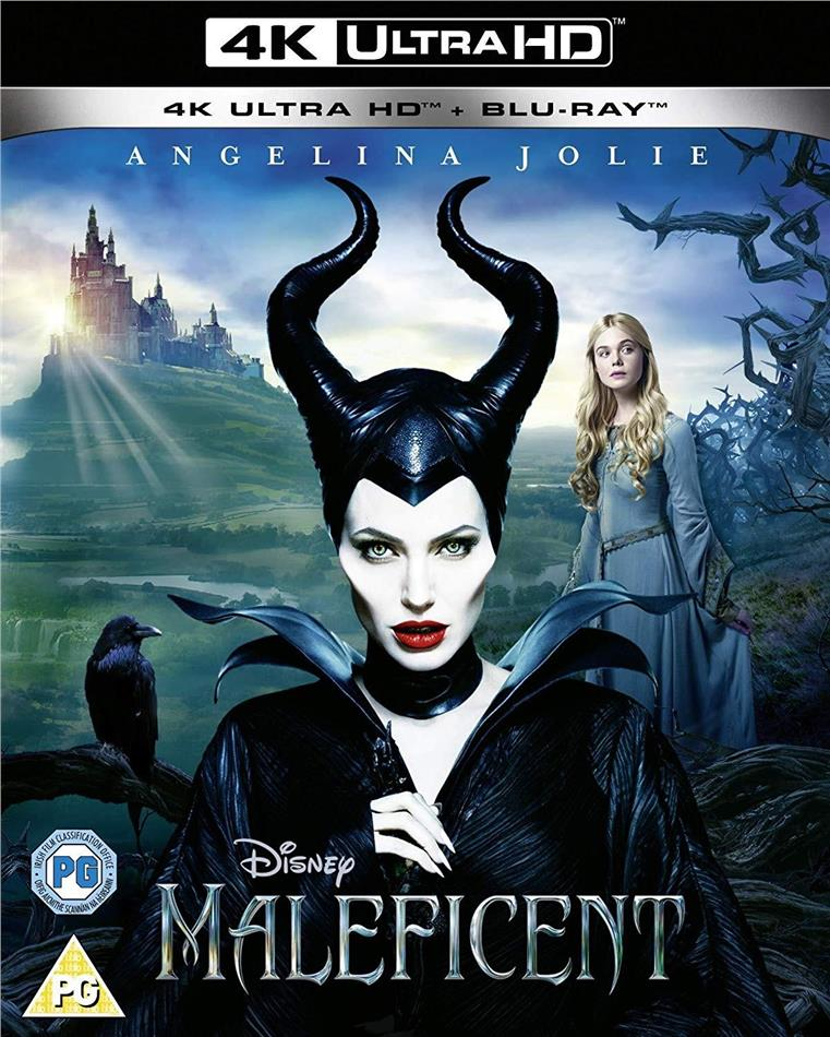 Maleficent (2014) (4K Ultra HD + Blu-ray)