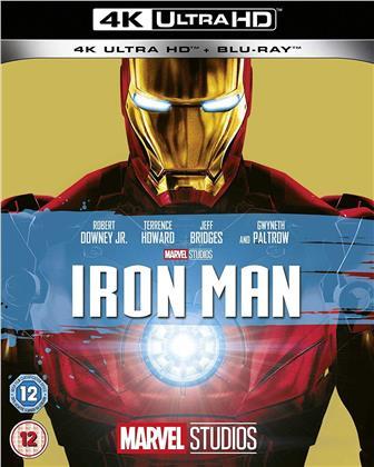 Iron Man (2008) (4K Ultra HD + Blu-ray)