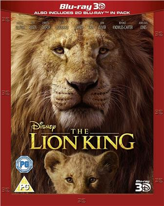 The Lion King (2019) (Blu-ray 3D + Blu-ray)