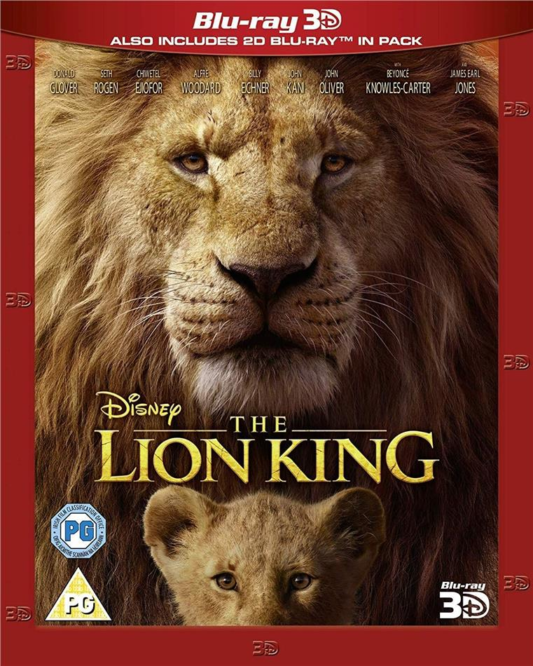 The Lion King (2019) (Blu-ray 3D + Blu-ray)