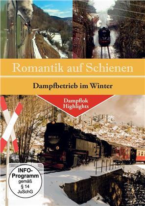 Romantik auf Schienen - Dampfbetrieb im Winter