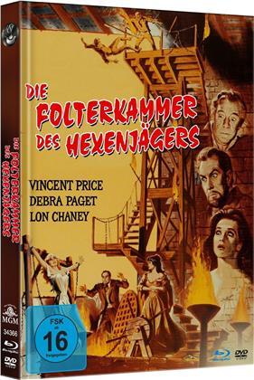 Die Folterkammer des Hexenjägers (1963) (Limited Edition, Mediabook, Uncut, Blu-ray + DVD)