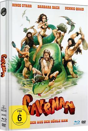 Caveman - Der aus der Höhle kam (1981) (Limited Edition, Mediabook, Blu-ray + DVD)