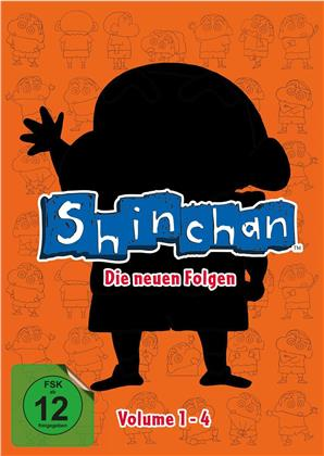 Shin Chan - Die neuen Folgen - Vol. 1-4 (4 DVDs)