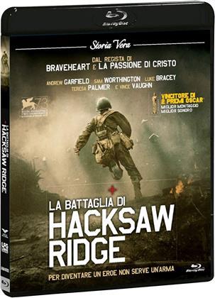 La battaglia di Hacksaw Ridge (2016) (Storia Vera, Blu-ray + DVD)