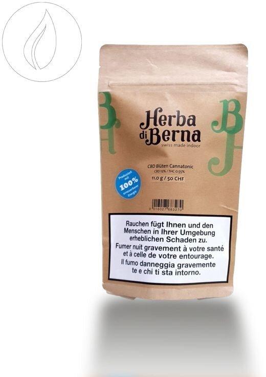 Herba di Berna Cannatonic (9g) - Indoor (CBD: 12% THC: 0.55%)