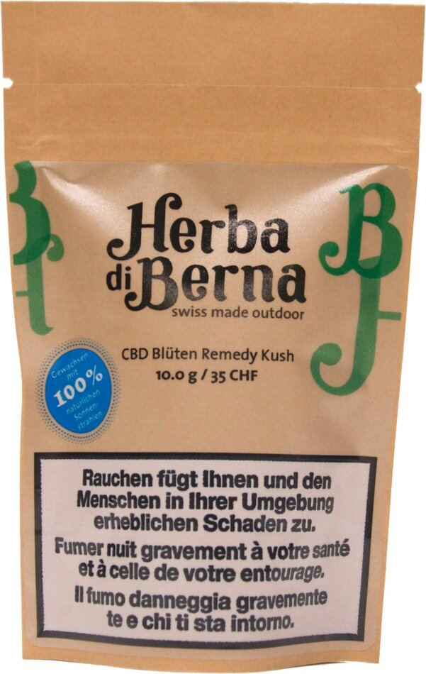 Herba di Berna Remedy Kush (10g) - Outdoor (CBD: 3.1% THC: 0.11%)