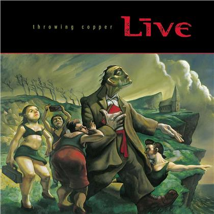 Live - Throwing Copper (Anniversary Edition, 2 LPs)