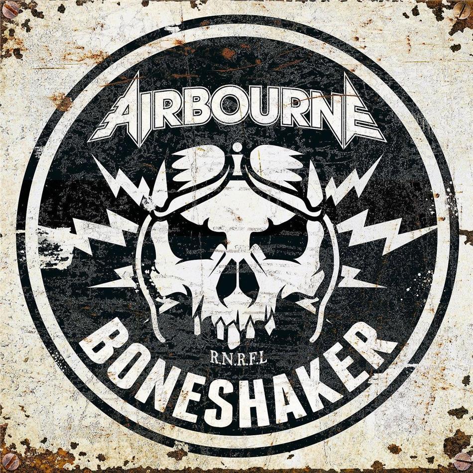 Airbourne - Boneshaker (Red Vinyl, LP)