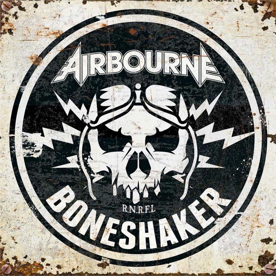 Airbourne - Boneshaker (Gatefold, Bone/Ivory Vinyl, LP)