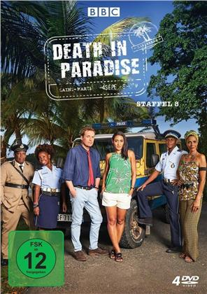 Death in Paradise - Staffel 8 (BBC, 4 DVDs)