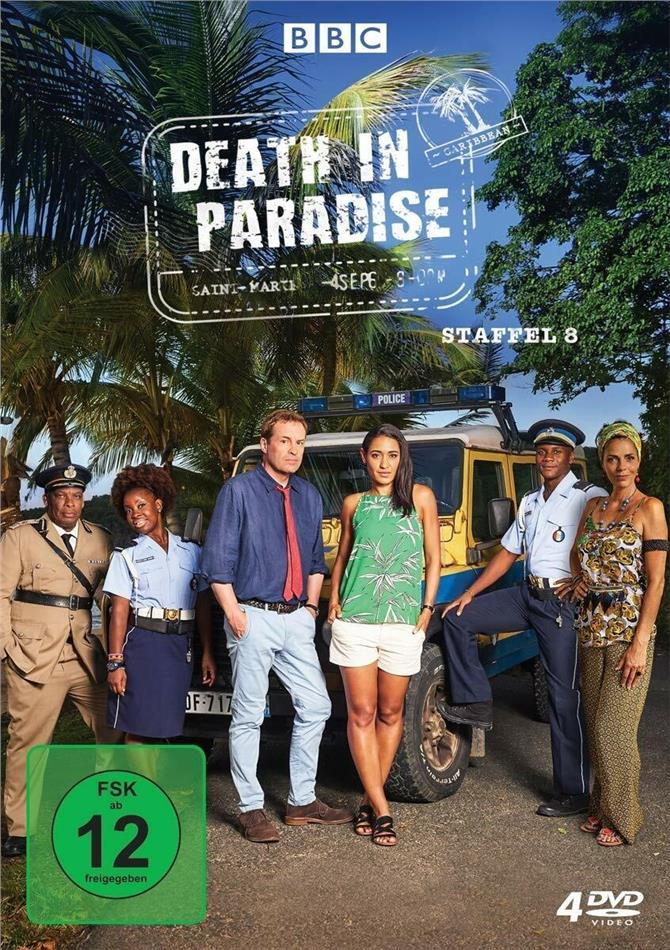 Death in Paradise - Staffel 8 (BBC, 4 DVD)