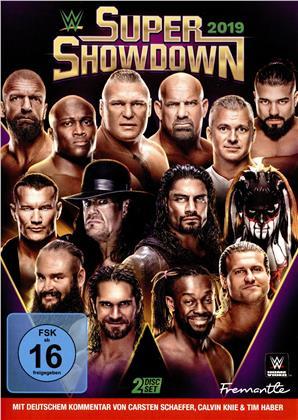 WWE: Super Showdown 2019 (2 DVDs)