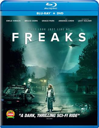 Freaks (2018) (Blu-ray + DVD)