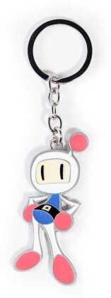 Konami - Bomberman - Metal Keychain