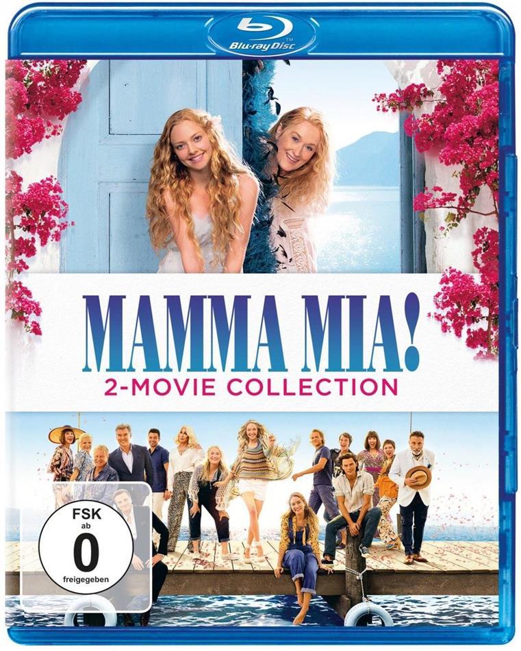 Mamma Mia! 1+2 (Neuauflage, 2 Blu-rays)