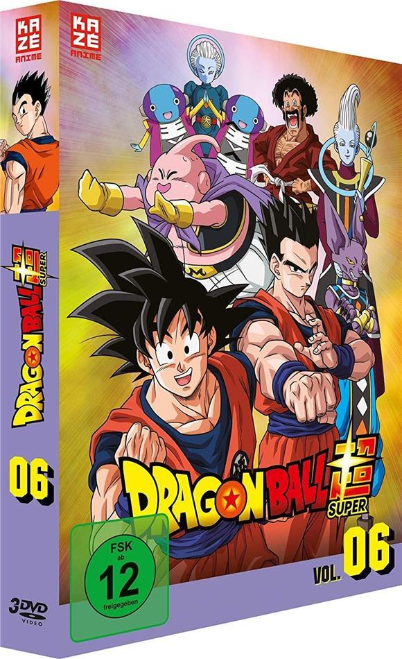 Dragon Ball Super - Vol. 6: Arc 5 - Universum-Turnier (3 DVDs)