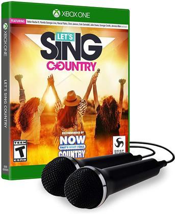 Let's Sing Country - 2 Mic Bundle