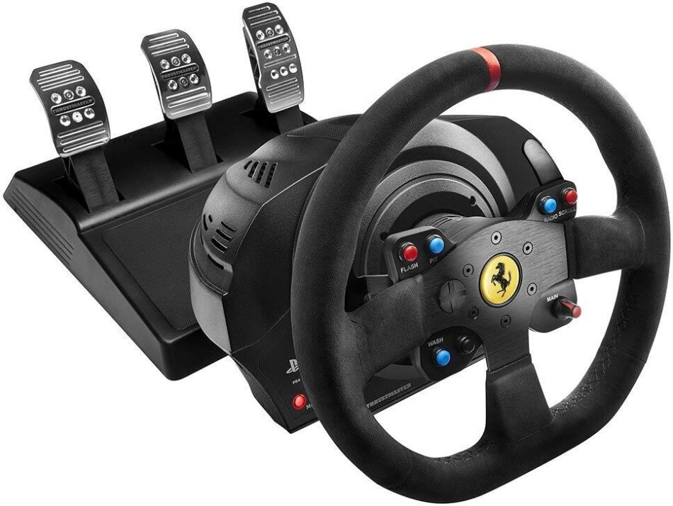 Thrustmaster - T300 Ferrari Integral Racing Wheel Alcantara Edition [PS5/PS4/PC]